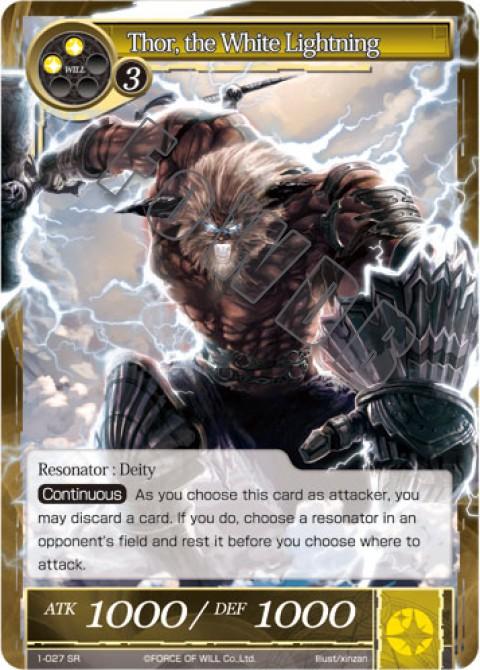 Thor, the White Lightning