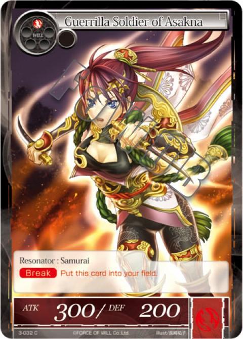Guerrilla Soldier of Asakna