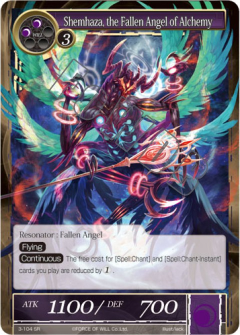 Shemhaza, the Fallen Angel of Alchemy