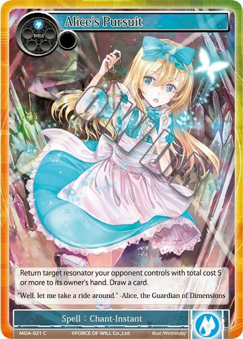 Alice's Pursuit