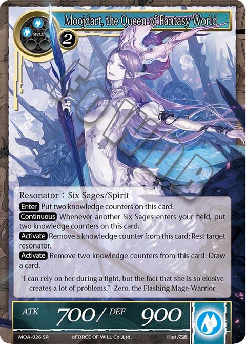 Moojdart, the Queen of Fantasy World