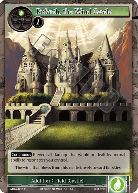 Refarth, the Wind Castle