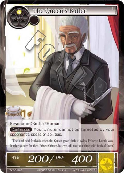 The Queen's Butler