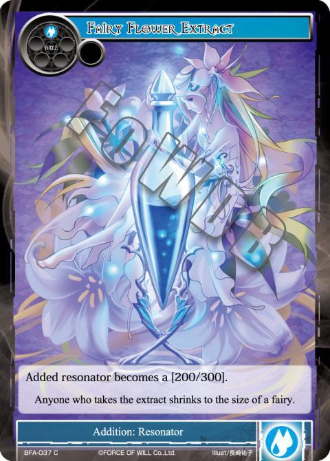 Fairy Flower Extract