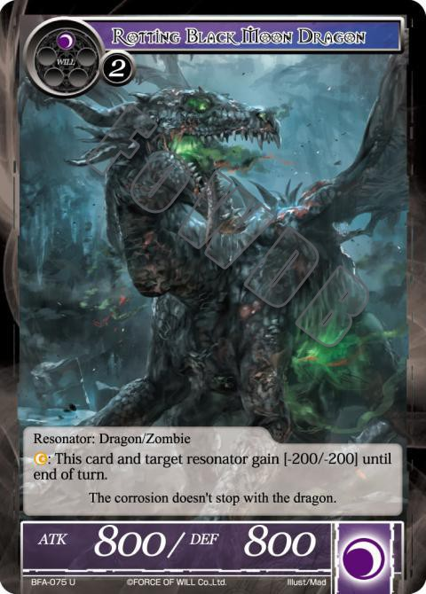 Rotting Black Moon Dragon