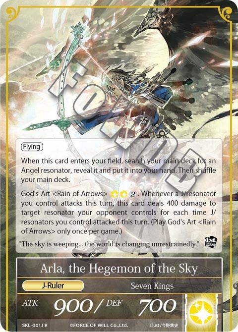 Arla, the Hegemon of the Sky