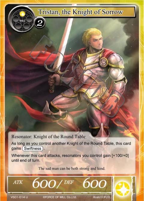 Tristan, the Knight of Sorrow