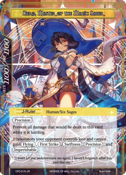 Zero, Master of the Magic Saber