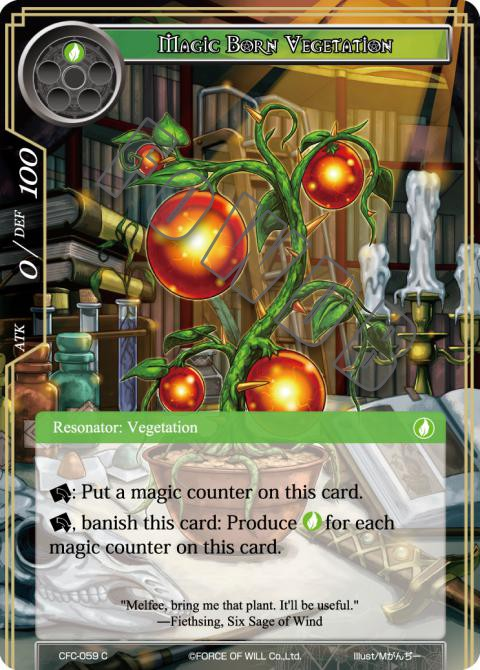 Magic Born Vegetation