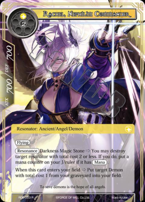 Rachel, Nephilim Commander