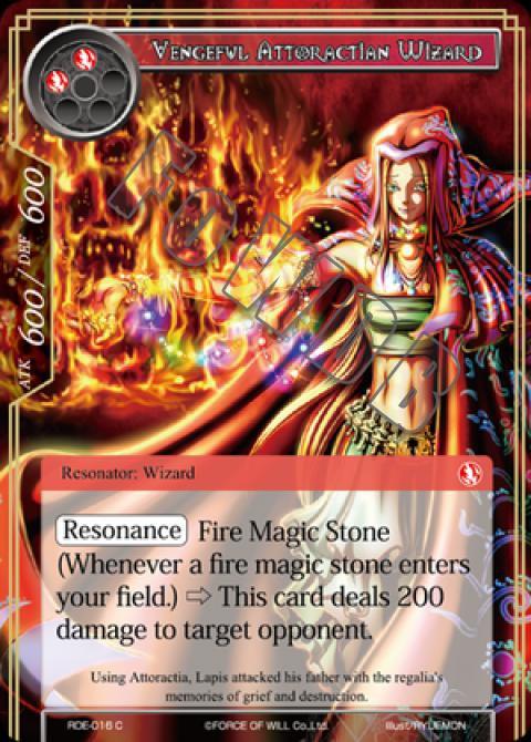 Vengeful Attoractian Wizard
