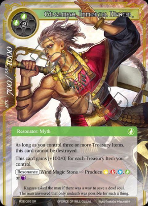 Gilgamesh, Immortal Hunter
