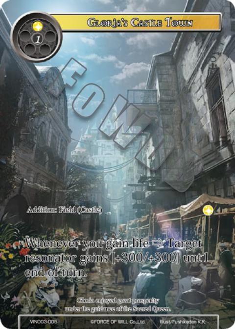 Gloria's Castle Town