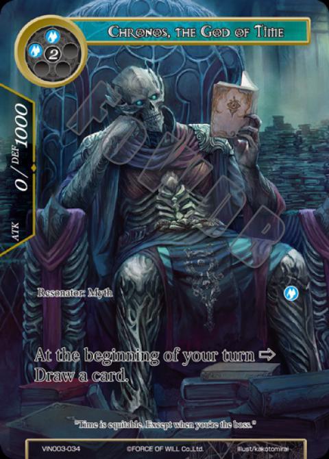 Chronos, the God of Time