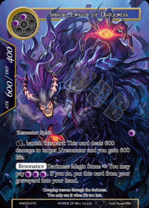 Shade, Envoy of Darkness