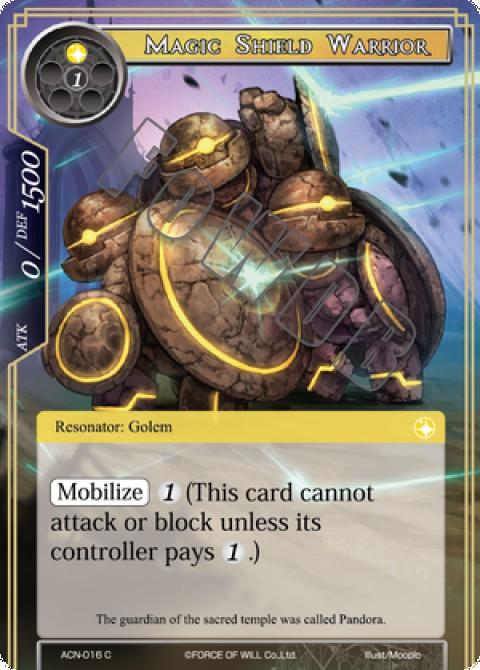 Magic Shield Warrior