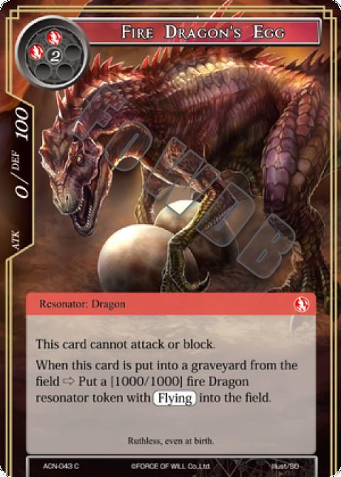 Fire Dragon's Egg