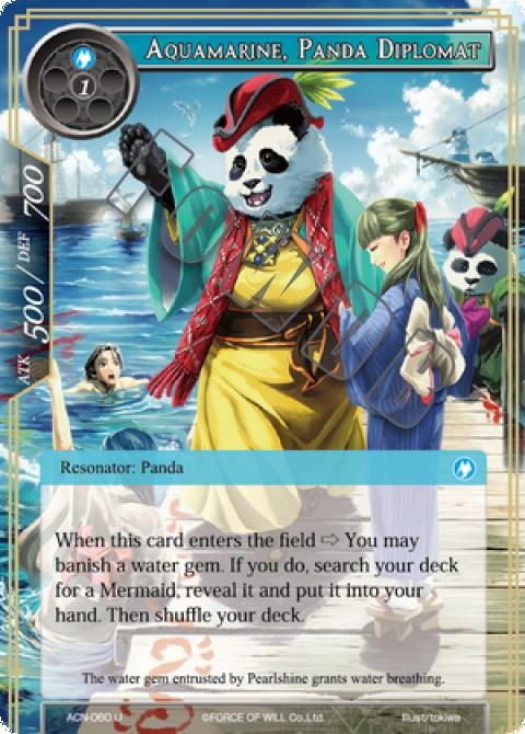 Aquamarine, Panda Diplomat