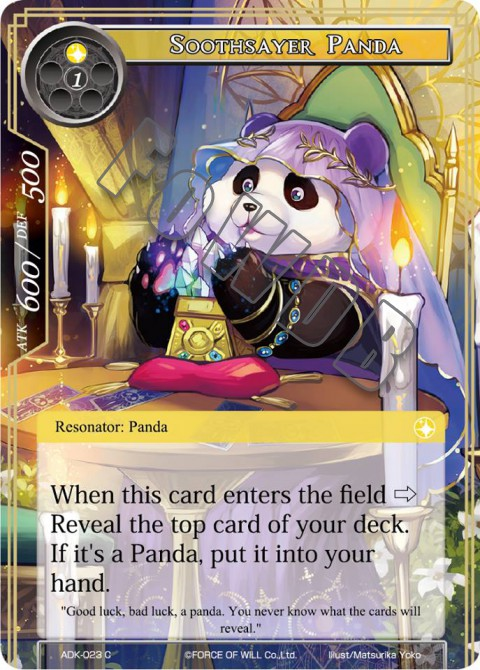 Soothsayer Panda