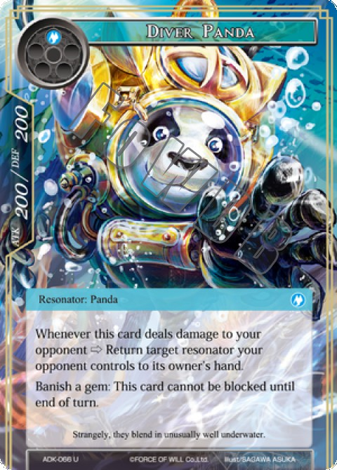 Diver Panda