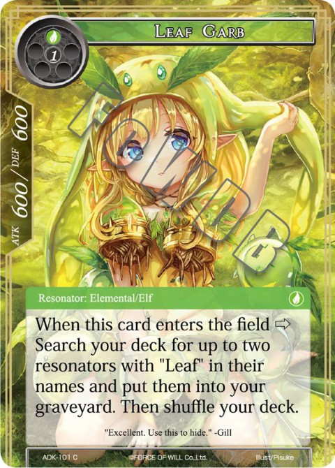 Leaf Garb