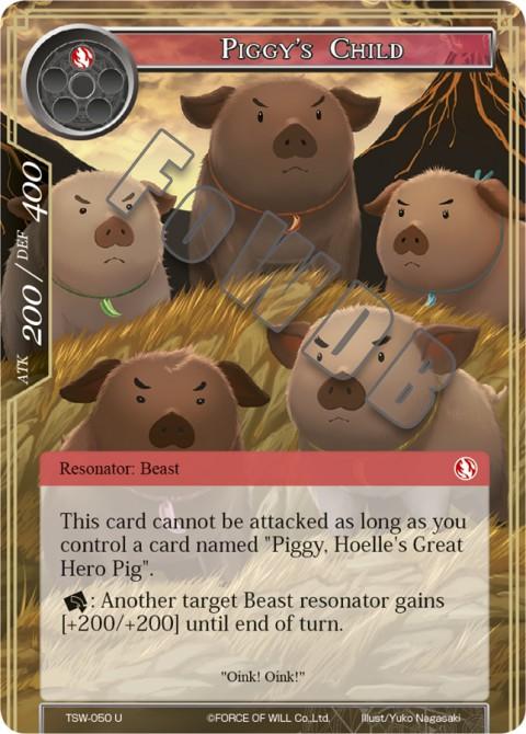 Piggy's Child