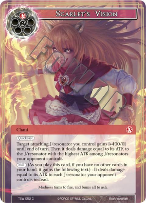 Scarlet's Vision