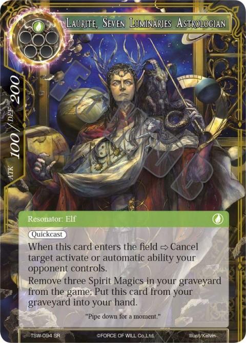 Laurite, Seven Luminaries Astrologian
