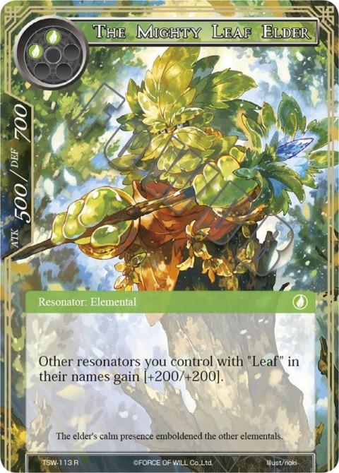 The Mighty Leaf Elder