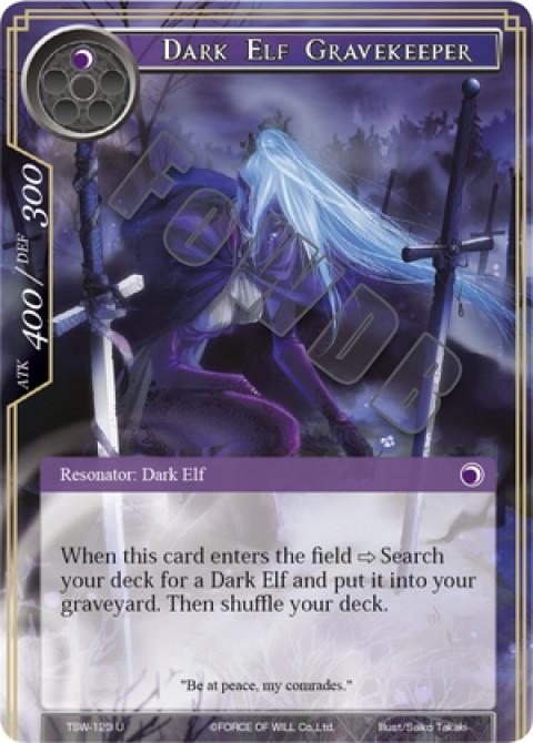 Dark Elf Gravekeeper