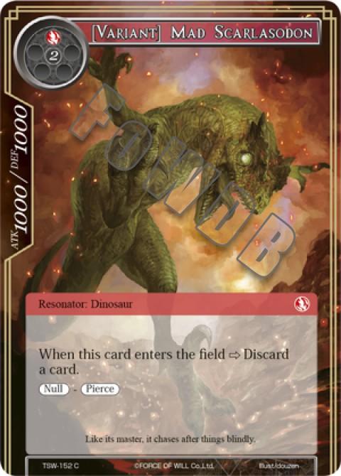 [Variant] Mad Scarlasodon