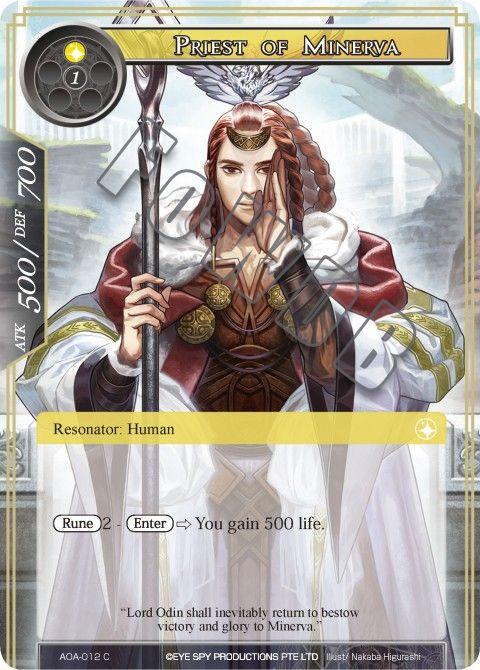 Priest of Minerva