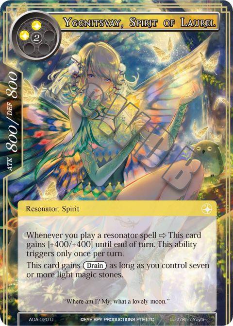 Yggnitsvay, Spirit of Laurel