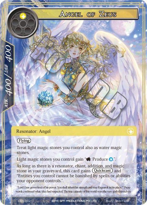 Angel of Zeus