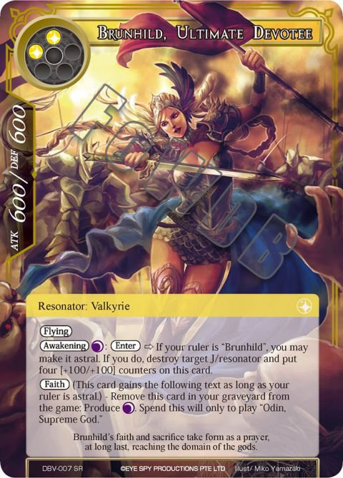Brunhild, Ultimate Devotee