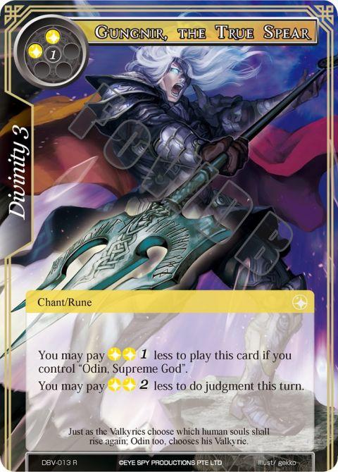 Gungnir, the True Spear