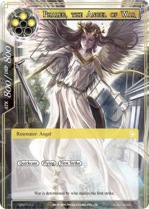 Phaleg, the Angel of War
