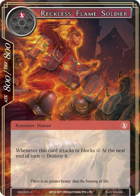 Reckless Flame Soldier