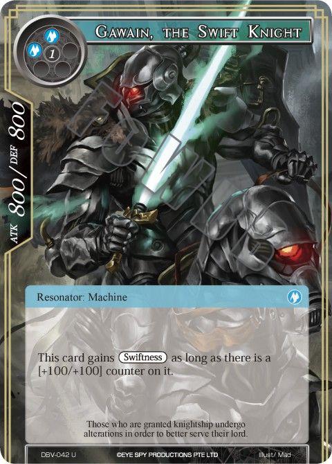 Gawain, the Swift Knight