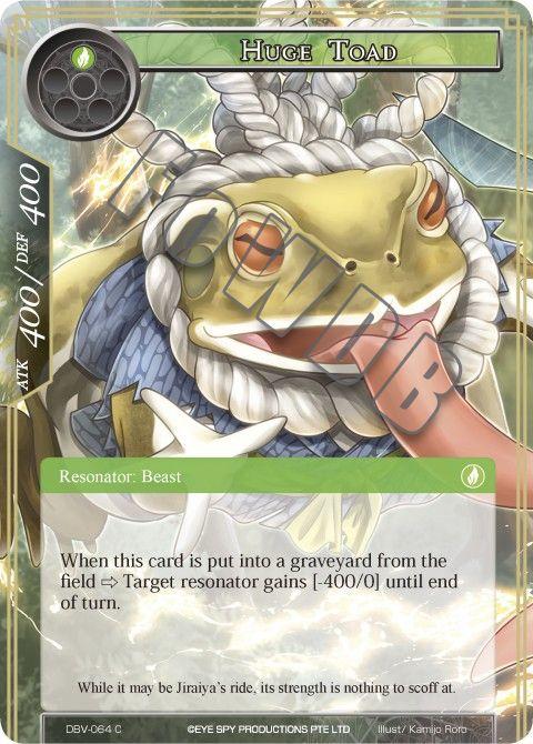 Huge Toad