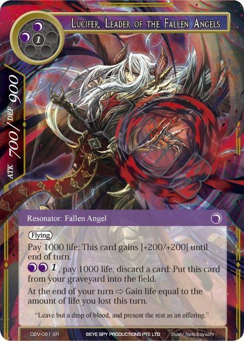 Lucifer, Leader of the Fallen Angels