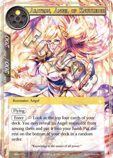 Aratron, Angel of Knowledge