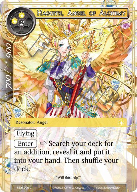 Haggith, Angel of Alchemy