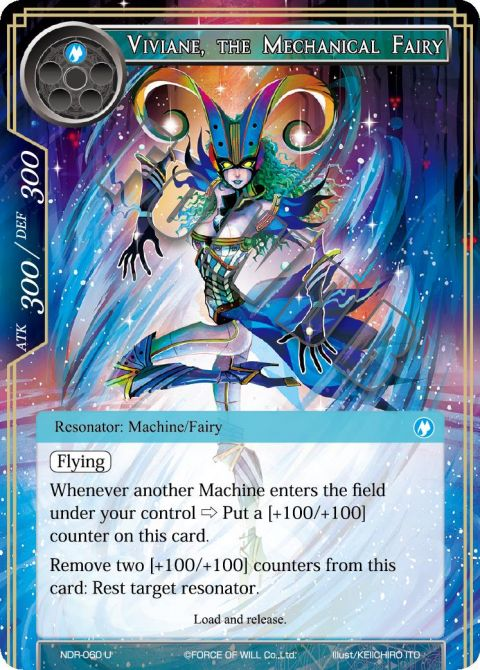 Viviane, the Mechanical Fairy