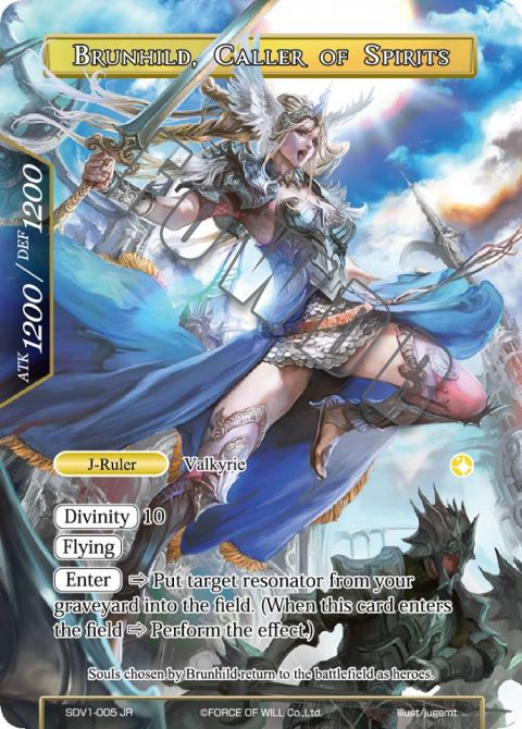 Brunhild, Caller of Spirits
