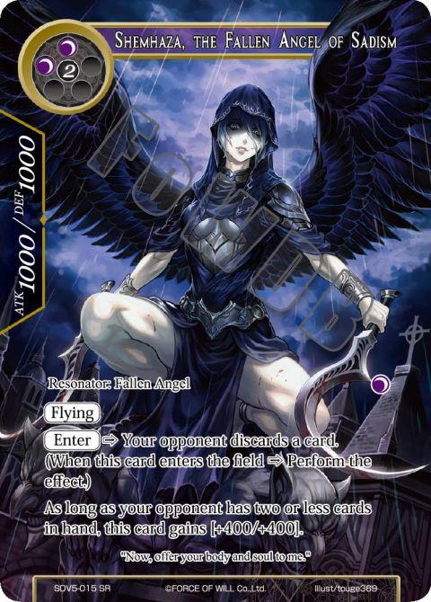 Shemhaza, the Fallen Angel of Sadism