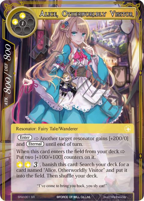 Alice, Otherworldly Visitor