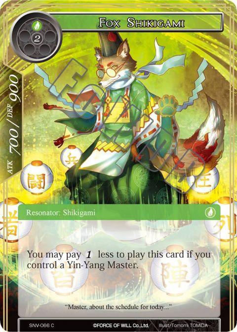 Fox Shikigami