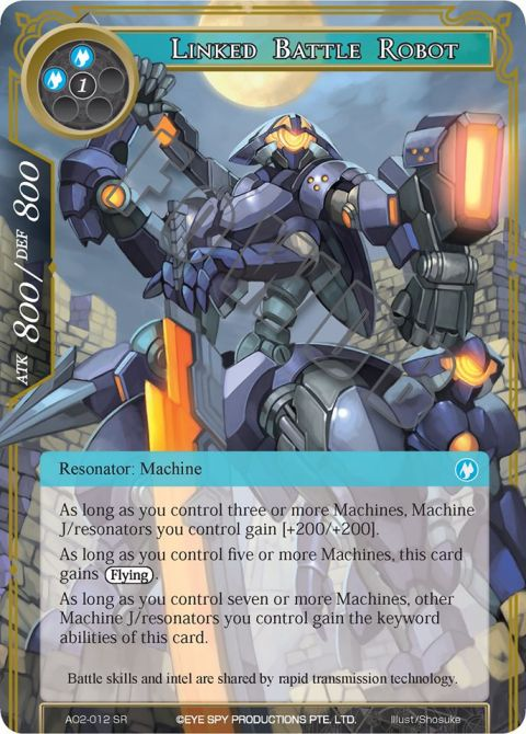 Linked Battle Robot