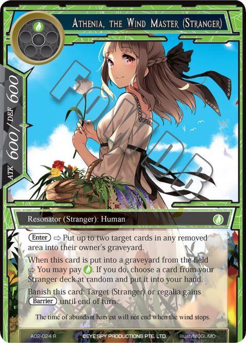 Athenia, the Wind Master (Stranger)